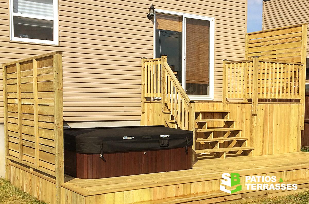 r alisations de l 39 entreprise patios et terrasses sb inc. Black Bedroom Furniture Sets. Home Design Ideas